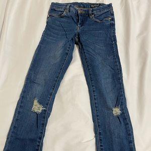 BlankNYC straight cut skinny jeans medium rise